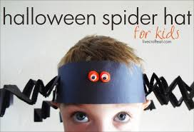 Crafts For Kids For Halloween - halloween craft idea for kids spider hat live craft eat