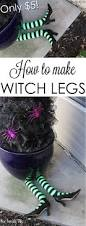 how to make witch legs