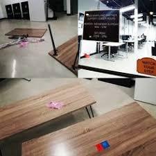 altra owen retro coffee table frenco office table mt 100 finishing sonoma oak dark paper pvc