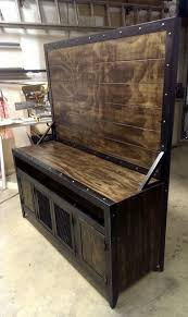 Industrial Looking Desk by Best 25 Industrial Tv Stand Ideas On Pinterest Industrial Media