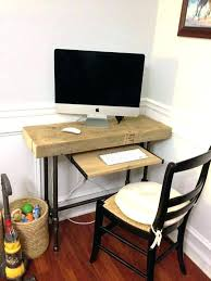 Small Desks For Small Rooms Small Desk Shelf Bethebridge Co