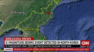 Nuclear Bomb Map North Korea Says It Has Conducted Hydrogen Bomb Test Cnn