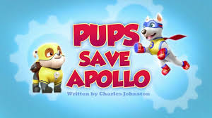pups save apollo paw patrol wiki fandom powered wikia