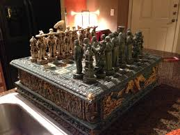 chess set coffee table addicts board plans 8g thippo