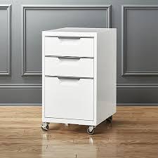 tps 3 drawer filing cabinet tps 3 drawer white file cabinet cb2 desk pinterest drawers