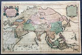 Asia And Middle East Map by 1692 Jaillot Very Large Antique Map Of Asia China Se Asia Middle