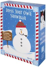 amazon com dress your own snowman kit toys u0026 games