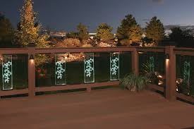 solar led deck lights using solar deck lighting u2013 the latest