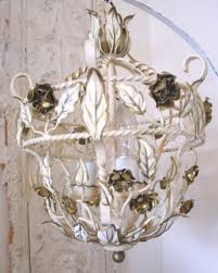 sconce shabby chic rustic clear crystal 2 light candle style