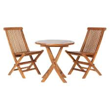 Bistro Patio Table And Chairs Set Belham Living Brighton Wood And Mosaic Patio Bistro Set Hayneedle