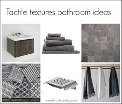 Bathroom Design Blog Using The Tactile Textures Trend In Bathroom Design Fresh Design