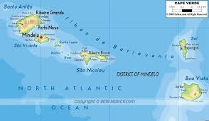 Cabo Map Maps Of Maio Cape Verde Map Of Ilha Do Maio Cabo Verde Maps