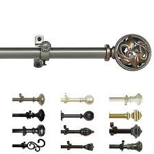 Finials For Curtain Rod Decorative Curtain Rods Ebay