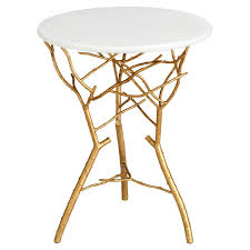 small gold side table small gold accent table house decorations