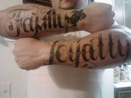 loyalty tattoo