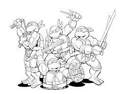 extraordinary shredder ninja turtles coloring pages with coloring