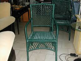 Green Outdoor Chairs 3 Green Outdoor Chairs Nerja Household Centre Second Hand