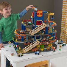 Plan Toys Parking Garage Wooden Set by Wooden Toy Garage Ebay