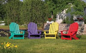Adirondack Patio Chair Outdoor Furniture Adirondack Collection Breezesta Recycled Poly