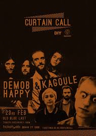 Curtain Call Album Demob Happy To Join Kagoule For Diy U0026 Jägermeister U0027s Curtain Call