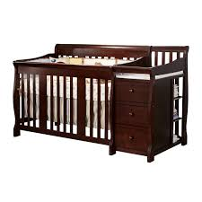 Sorelle Princeton 4 In 1 Convertible Crib With Changer by Bedroom White Sorelle Vicki Crib With Davinci Kalani Dresser And