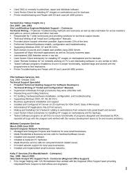 combination technical support specialist resume template page 5