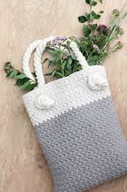 Free Crochet Patterns For Home Decor Easy Modern Free Crochet Bag Pattern For Beginners