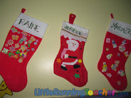 Stocking Designs by Jazzed Up Christmas Stockings Little Running Teacher