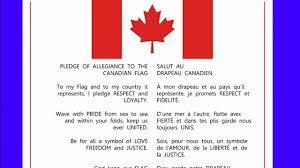 I Pledge Of Allegiance To The Flag Canadian Pledge Read Description Youtube