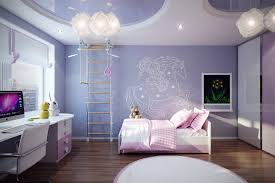 modern ceiling decorations for kids bedroom with unique wall art