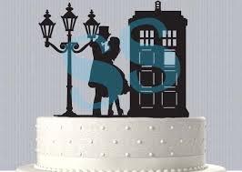 tardis cake topper tardis serenade dr who inspired wedding cake topper 2533425