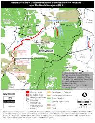 Arizona Map Of Cities Southwest Region Arizona Es Field Office