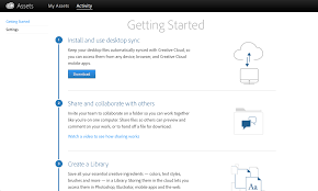 store and share content with adobe creative cloud assets adobe