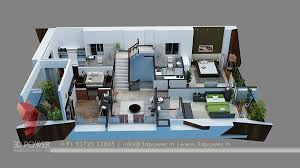 3d Floor Plan 3d Power House Plan Designs In 3d