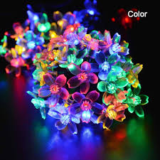 flower christmas lights christmas lights decoration
