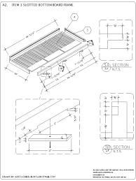 How To Make A Top Bar Beehive Top Bar Hive U2026 U2026 How To Make A Langpohl Top Bar Hive Its The