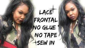 is sewins bad for hair lace frontal customised hair line sew in youtube