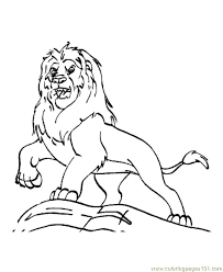 lion coloring pages preschool kindergarten