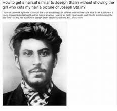 how can i get my hair ut like tina feys how to get a haircut similar to joseph stalin without showing the
