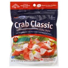 Flake Meme - ocean crab classic imitation crab meat flake style fresh