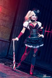 harley quinn arkham city halloween costume harley quinn from batman arkham knight u201c cosplayer jessica nigri
