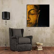 Peinture Moderne Pour Salon by Online Get Cheap Bouddha Peinture U0026agrave L U0026 39 Huile Moderne Art