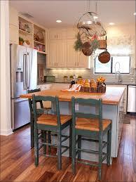 striking antique butcher block kitchen island with black wrought black kitchen island butcher block