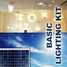Solar Home Lighting System - solar indoor home lighting systems