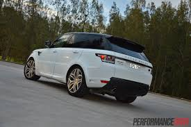 land rover autobiography white 2014 range rover sport autobiography v8 review video