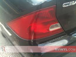 2001 honda civic tail lights rtint honda civic coupe 2001 2005 tail light tint film