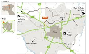 Milano Italy Map by Expo Milano 2015 Targets 20 Million Visitors From All Over The World