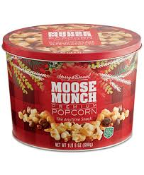 harry david moose munch gourmet popcorn tin for the home gifts