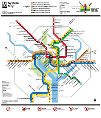 Metro Train Map Dc by 100 Dc Metro Rail Map Which Metro Parking Lots Fill Up And