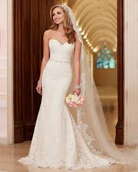 robe de mari e sirene pas cher robe de mariée en dentelle ivoire balayage